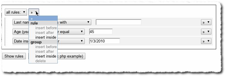 Jui Filter Rules Query Builder Pontikis Net